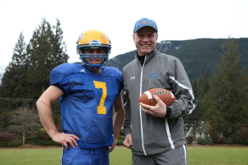 Adam and Jay Prepchuk, Football Coach